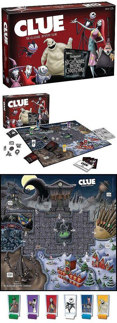 nightmare before christmas 36586 clue tim burtons the nightmare before christmas board game - Nightmare Before Christmas Board Game
