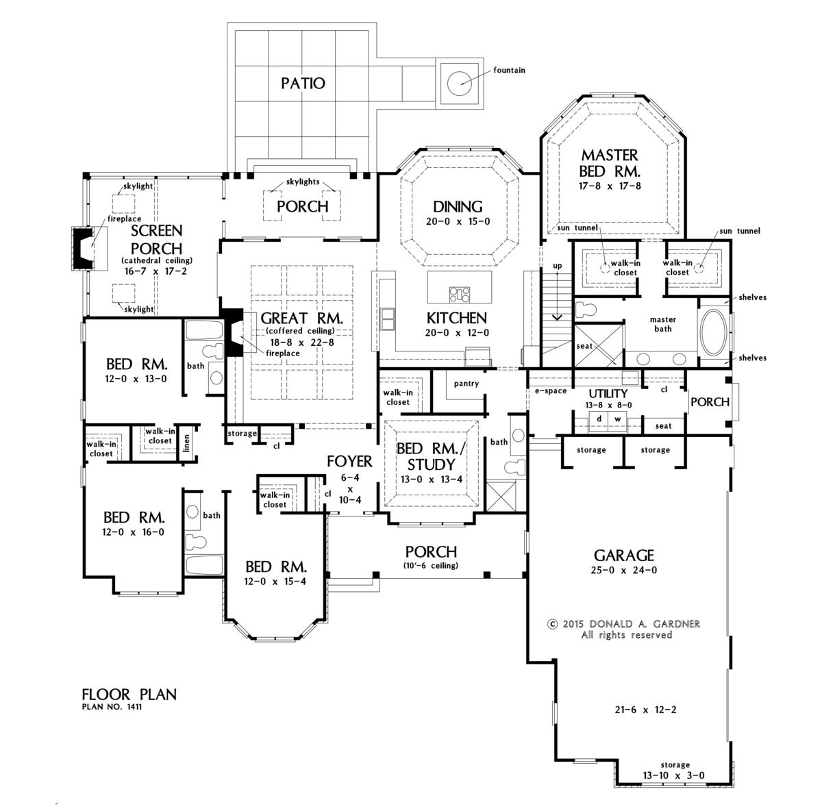 Plan of the week over 2500 sq ft the harper 1411 3222 for 2500 sq ft house plans single story