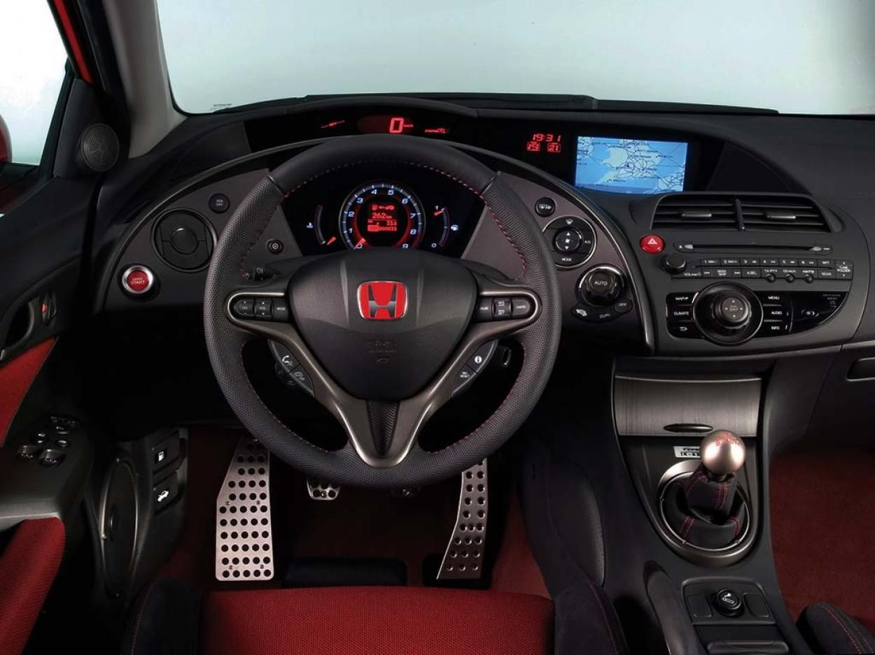 honda civic type r 6 поколения