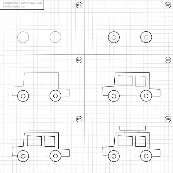 How To Draw A Car Drawing Pinterest Drawings Easy Drawings