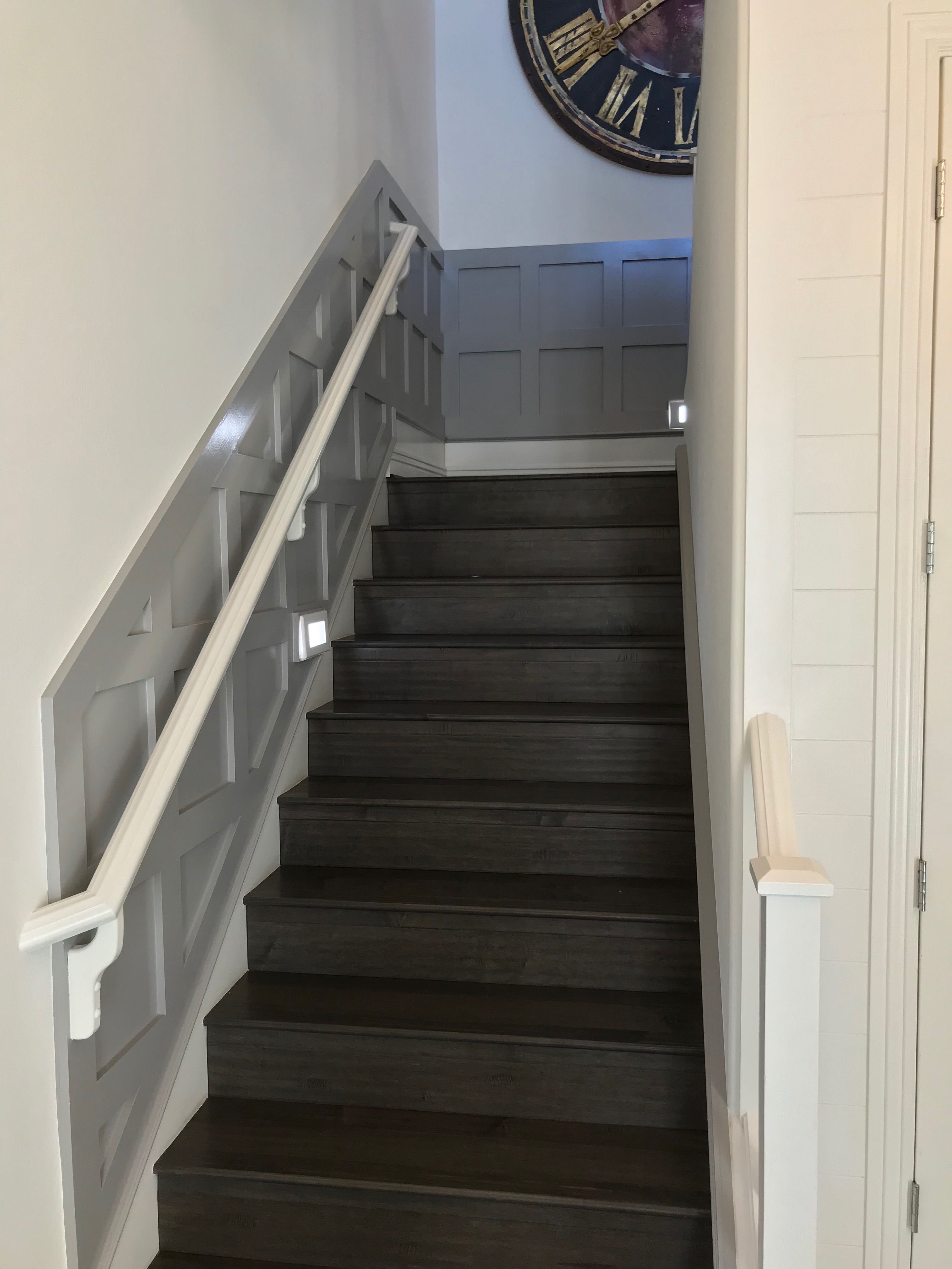 This Wall Treatment Definitely Showcases The Stairs Great Idea To