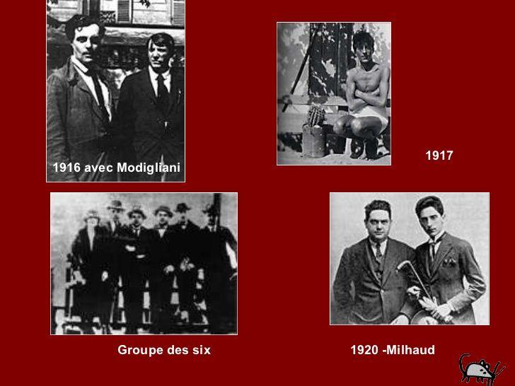 jean cocteau et le groupe des six - Buscar con Google