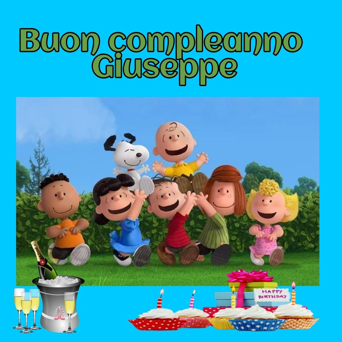 Buon compleanno Giuseppe | Compleanni Onomastici e Anniversari
