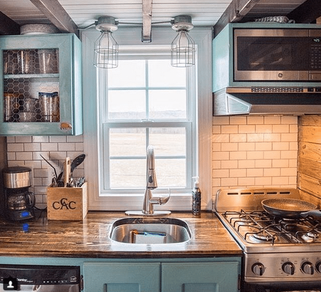 The 11 Tiny House Kitchens That Ll Make You Rethink Big Kitchens Tiny House Kitchen Tiny Kitchen Design Kitchen Design Small