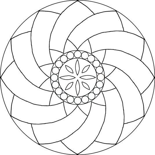 Mosaic Pattern Más | Imprimir | Pinterest | Mosaicos, Mandalas y ...
