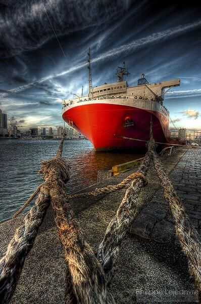 Heavy lift #vessel #Wilhelminakade #Rotterdam