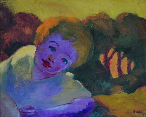 Emil Nolde (German-Danish, 1867 - 1956) Spring in Autumn, 1940 Oil on canvas, 57 x 70.5 cm