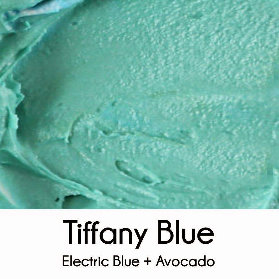 How To Make Tiffany Blue Royal Icing