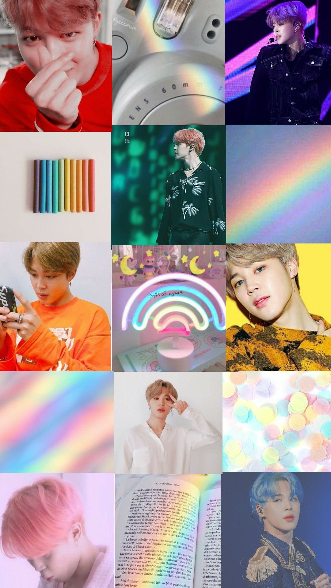 Wallpaper Bts Twt Park Jimin Aesthetic Rainbow Park Jimin Bts Wallpaper Jimin Wallpaper Aesthetic Iphone Wallpaper