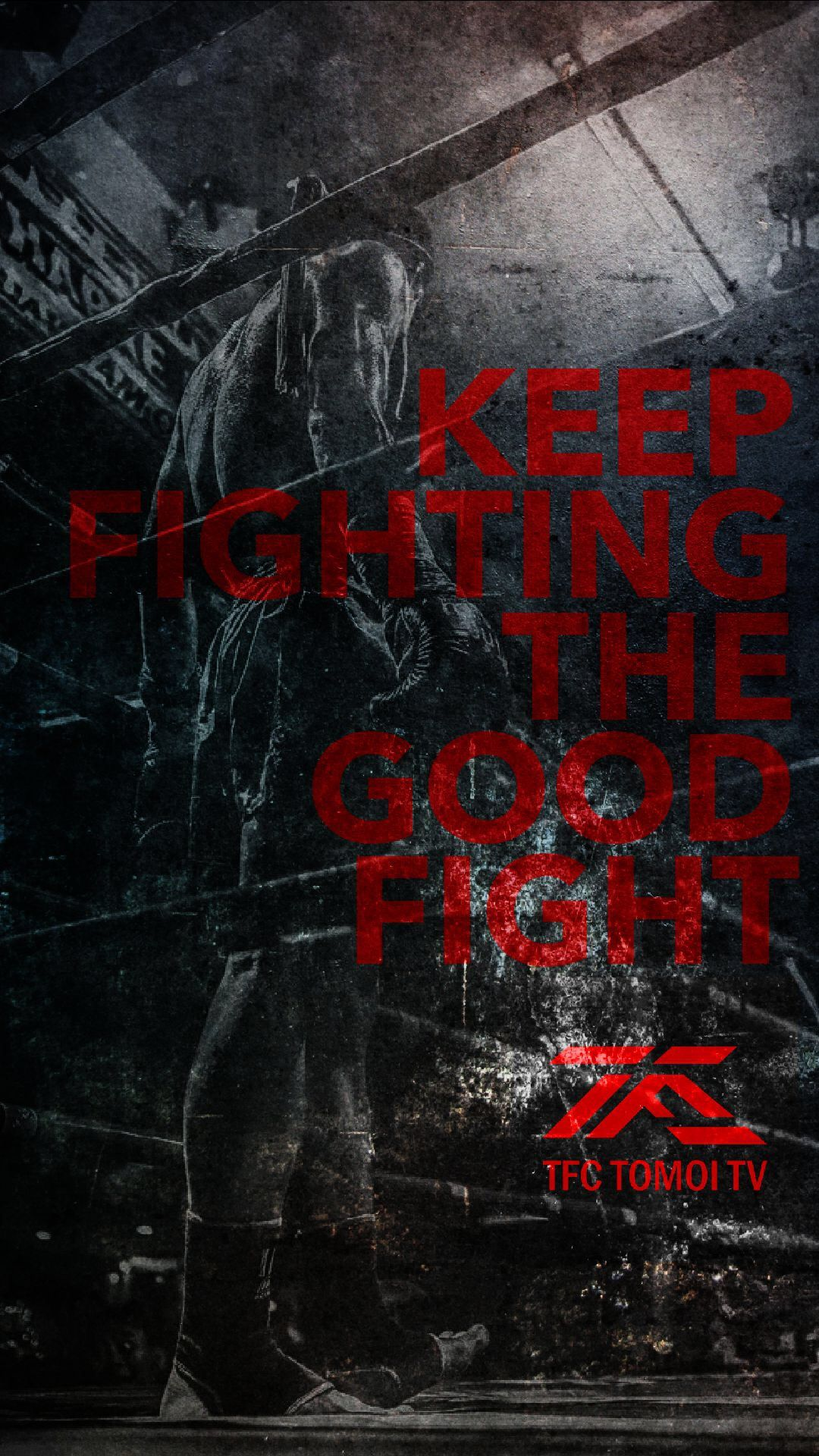 Pin By Tomoi Tv On Poster Art Poster Art Fight The Good Fight Art