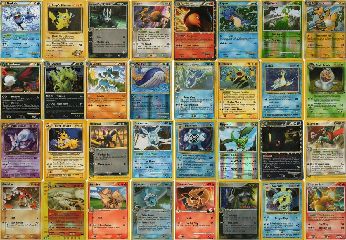 printing pokemon cards for free
