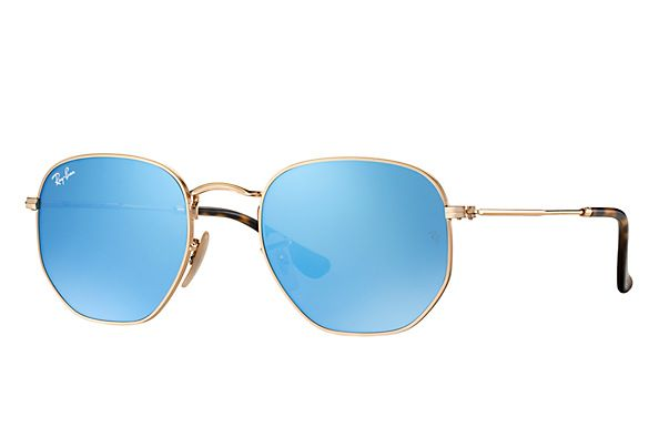 2dbca6e6f2856 Compre Óculos de Sol Ray-Ban HEXAGONAL LENTES FLAT na loja oficial online  Ray-Ban Brasil. Frete Grátis em todos os pedidos!