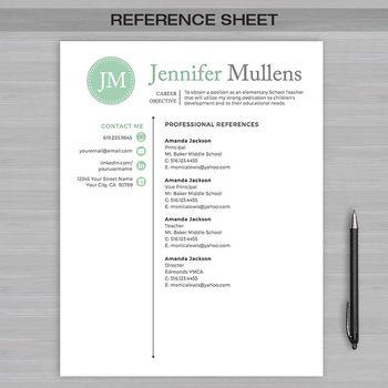 RESUME TEACHER Template For MS Word + Educator Resume Writing - educator resume