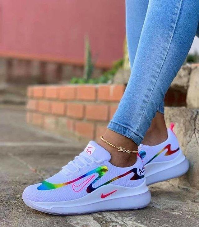 Sneakers fashion, Nike air shoes