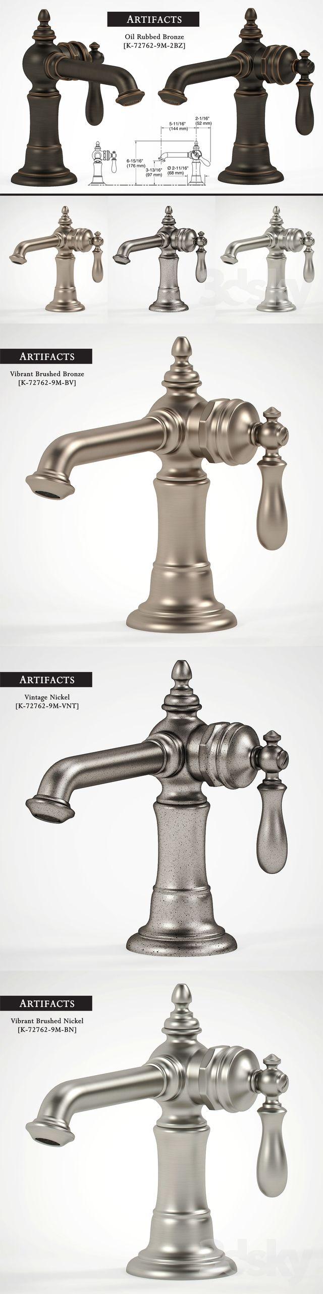 Kohler Artifacts Bathroom Sink Faucets 2 3dsky Kohler Artifacts