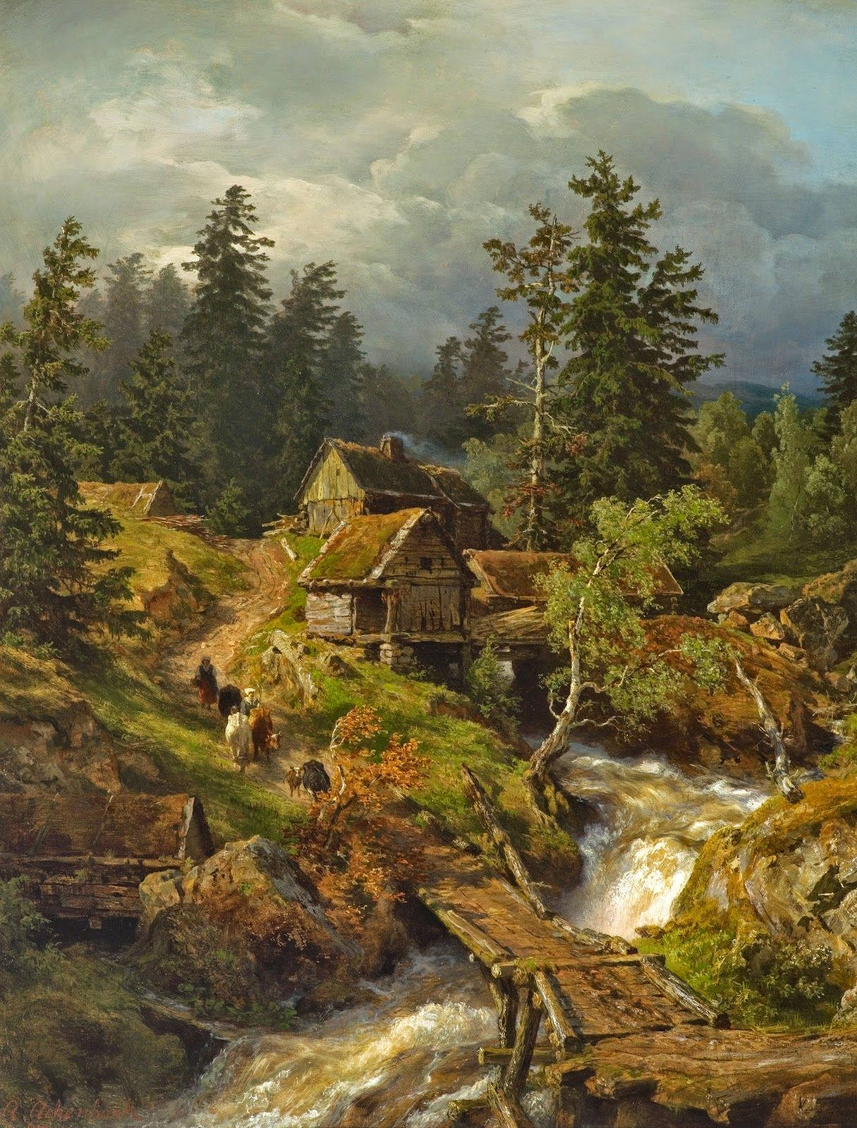 Andreas Achenbach The Dusseldorf School Of Painting