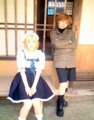 Fruits Basket cosplay - Sohma Kisa (Tiger) and Sohma Hiro ...
