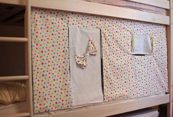 cabane de lit en tissu stunning ikea kura tente dans un lit duenfant with cabane de lit en. Black Bedroom Furniture Sets. Home Design Ideas