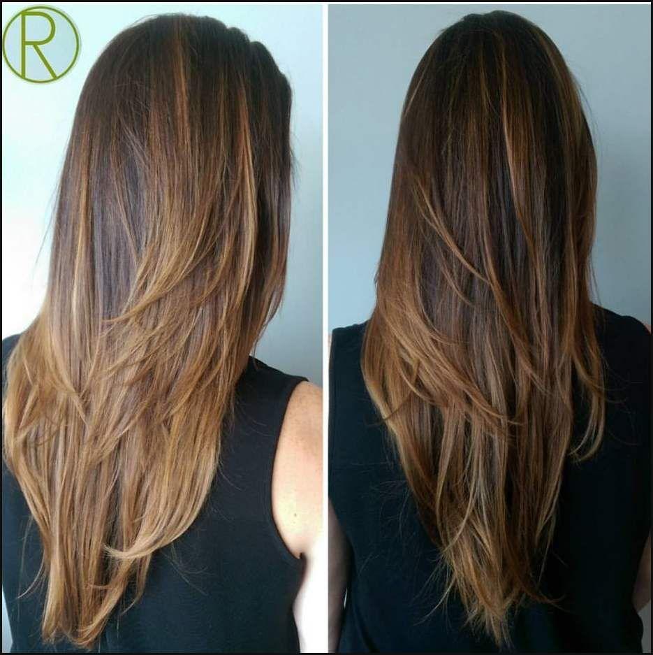 V Schnitt für Lange Haare 10.  Einfache Frisuren  Hair styles