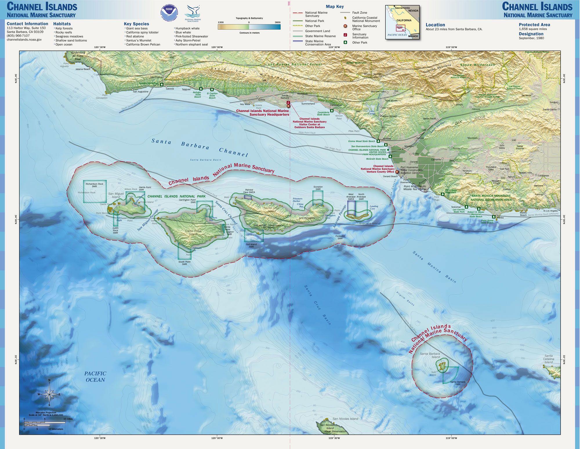 channel island map FileChannel Islands NMS mapjpg Wikipedia