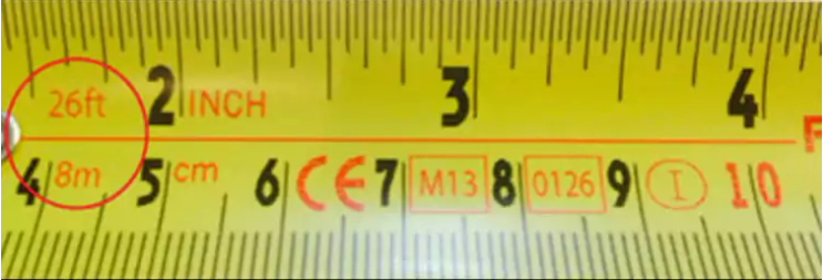 Ever Wondered Why Your Measuring Tape Has Black Diamonds On It