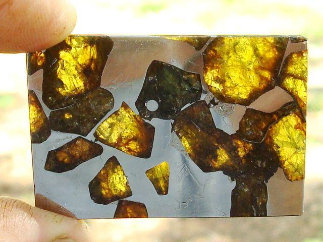4.5 billion years old Fukang Meteorite