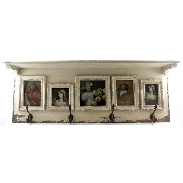 5 Window Antique Photo Frame With Hooks | Frame it! | Pinterest ...
