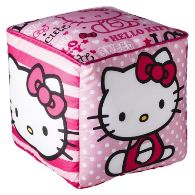 I 39 m learning all about hello kitty pillow cube at influenster hellokitty handarbeit - Hello kitty schlafzimmer ...