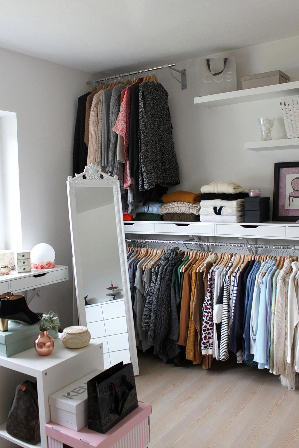 This List Of Closet Organization Ideas Is Essentials For You Organizing A Closet Can Seem Like A Handful Task That No Wardrobe Room Closet Bedroom Room Closet