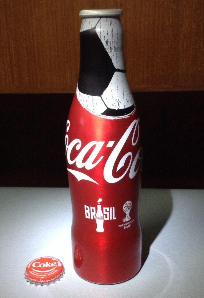 Thai Coca Cola Coke Aluminum Bottle FIFA World Cup 2014 Advertising Collectible  #CocaCola