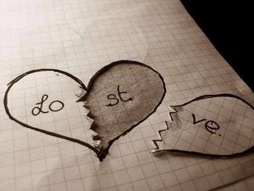 love lost heart via tumblr