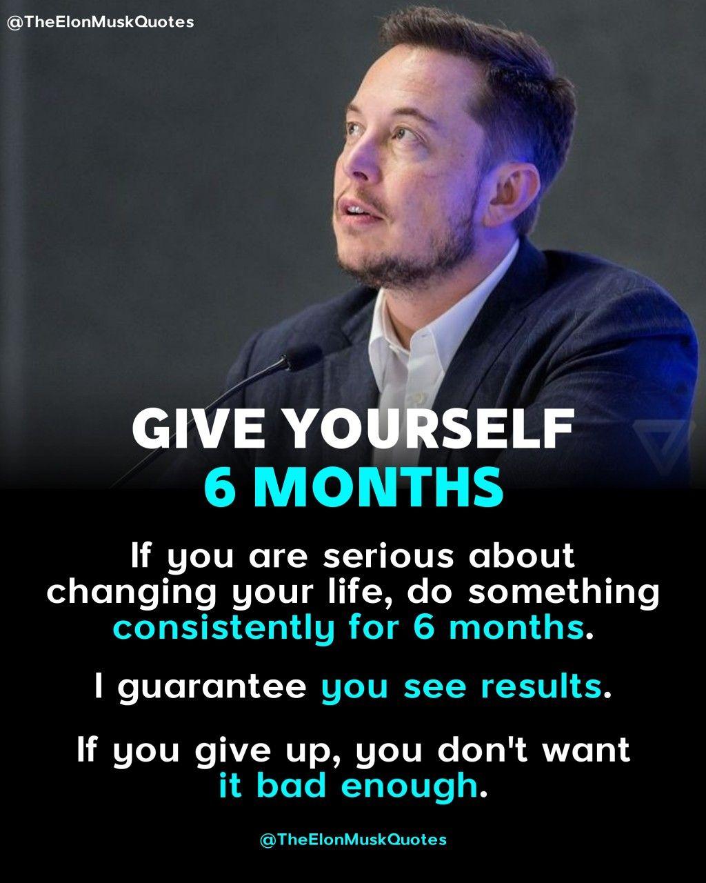 Elon Musk Betterment Quotes
