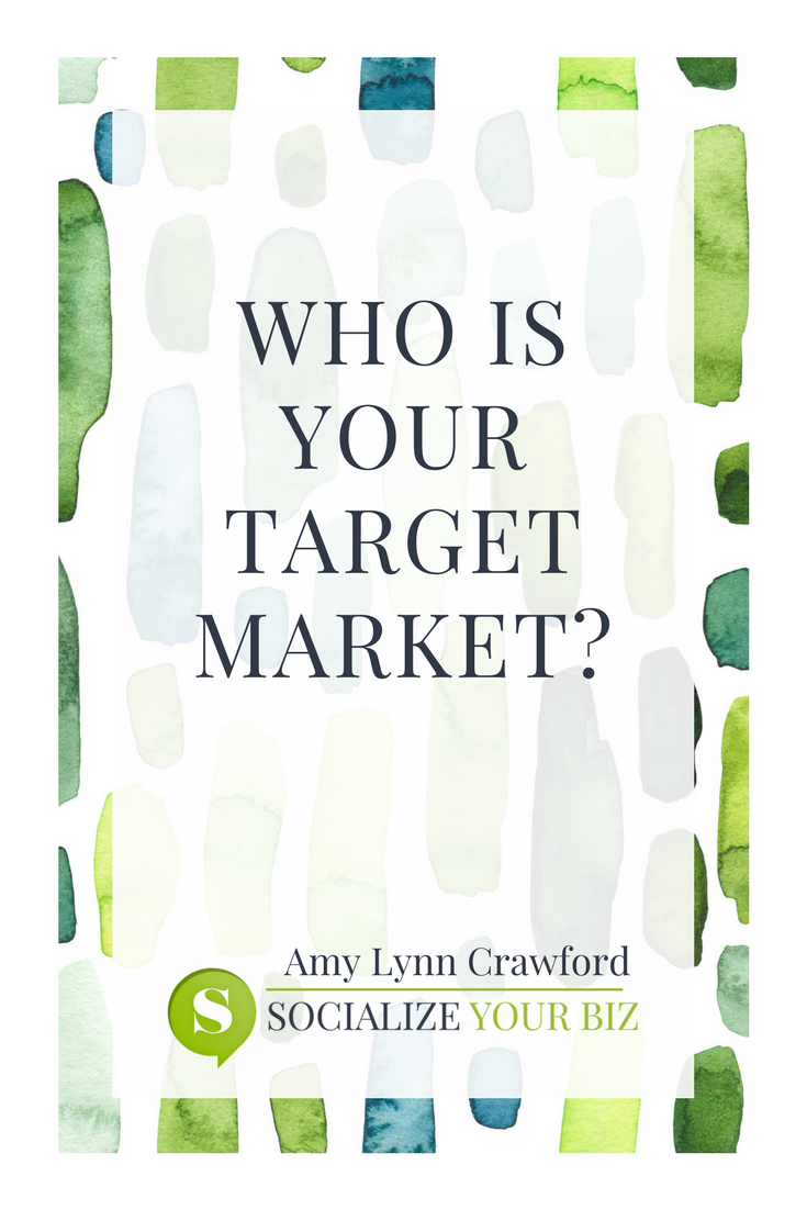 who is your target market? #socializeyourbiz #socialmedia #marketing