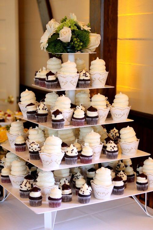 Gigi\'s Cupcakes wedding reception cupcake stands | GIGI\'S | Weddings ...