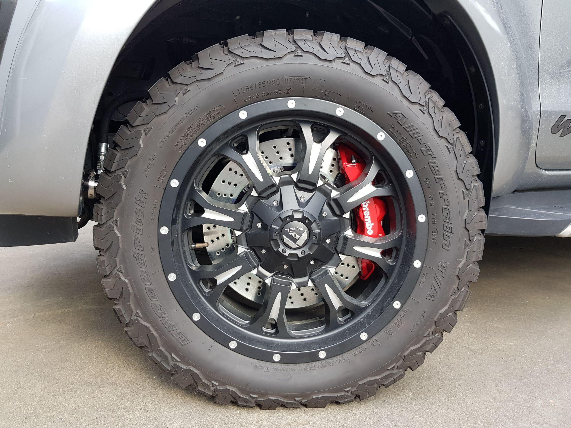 brembo big brakes 2017 ford ranger bangkok jantes carros. Black Bedroom Furniture Sets. Home Design Ideas