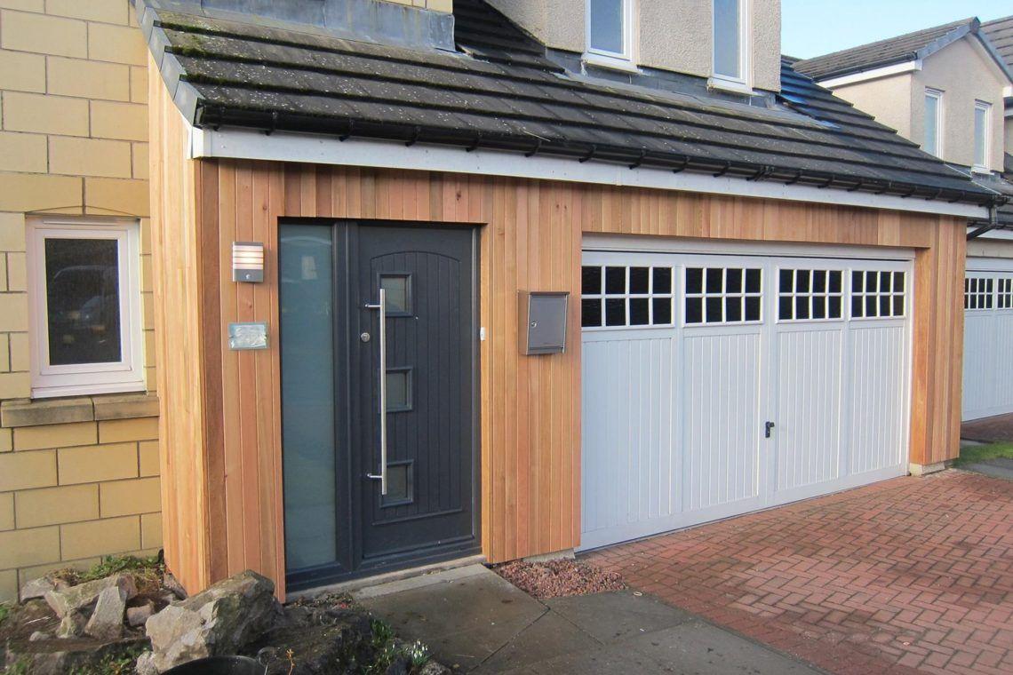 Beautiful cedar lining in Bathgate Beautiful homes
