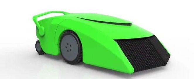 EcoMow robotic lawnmower