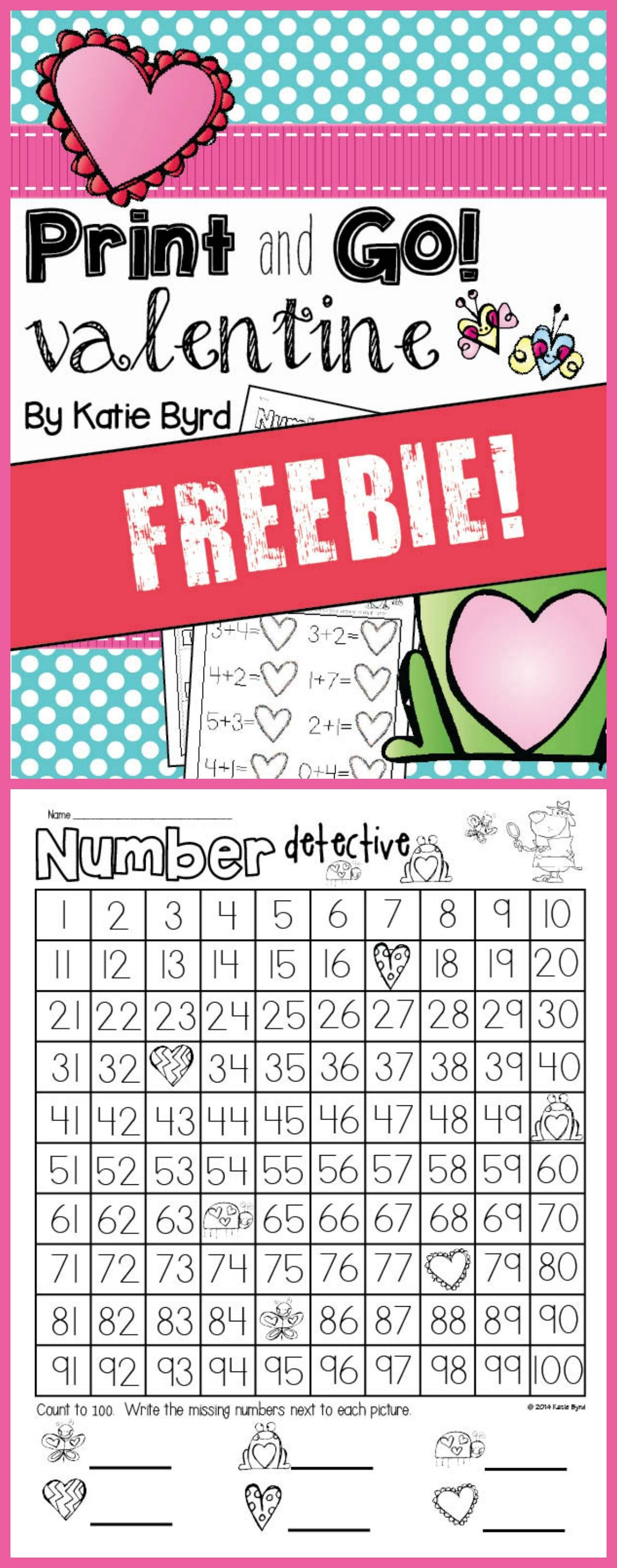 Free Printable Practice Pages For Valentines Fun In