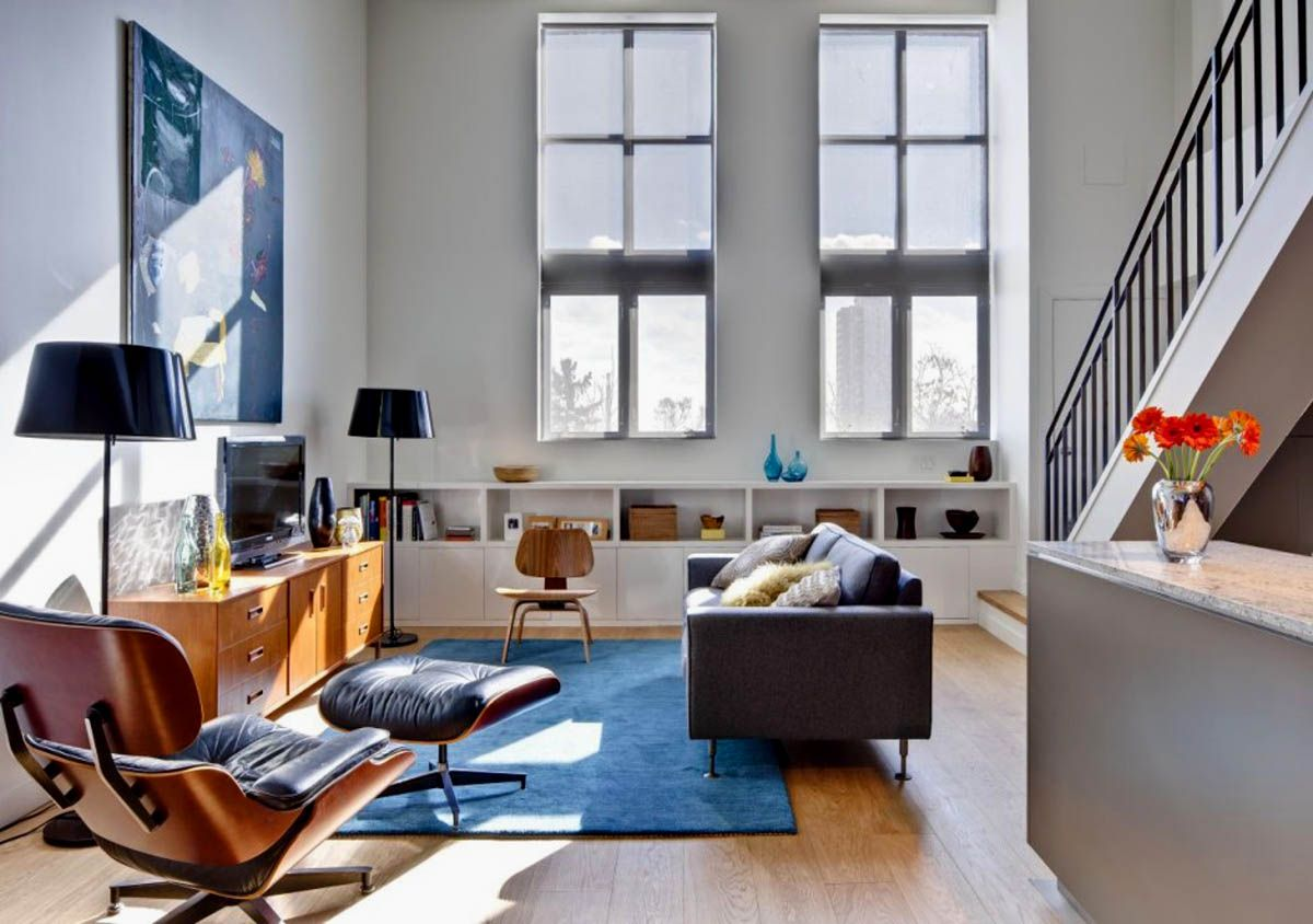 This Canadian loft is the result of contemporary remodeling by Beauparlant Design. - pic1