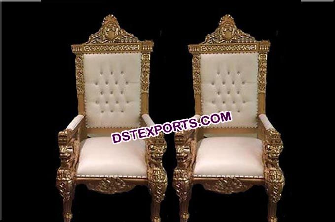 #Royal #look #Wedding #maharaja #King & #Queen #chairs # - Royal #look #Wedding #maharaja #King & #Queen #chairs #Dstexports