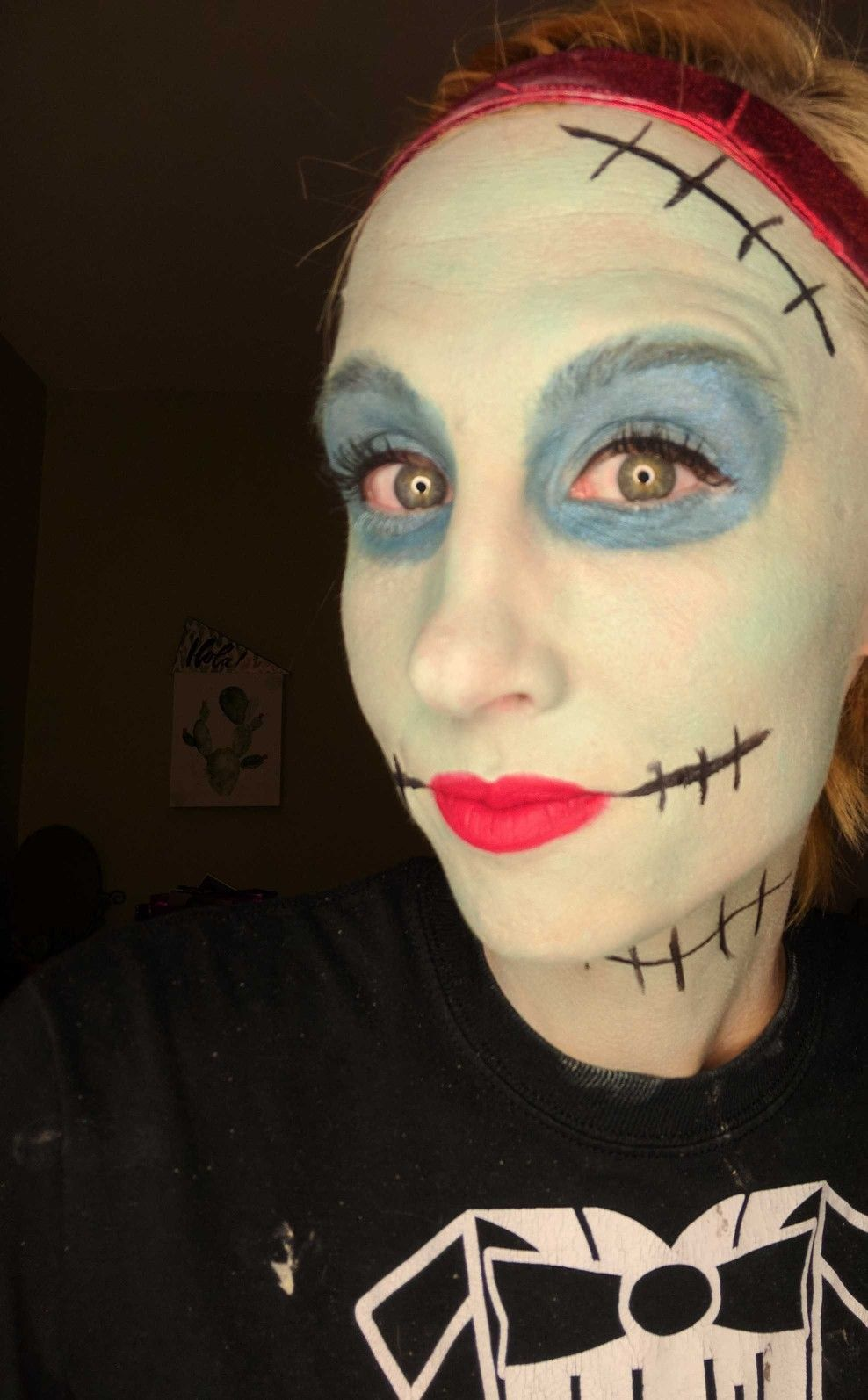 Christmas Halloween Makeup.Nightmare Before Christmas Halloween Makeup Younique Www