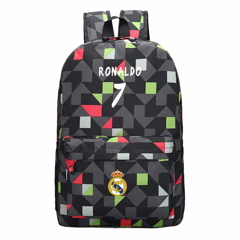 6f8f60178de8 Men Backpack Boys School Bags for Teenagers Back Pack Cristiano Ronaldo Backpacks  Fashion Bookbags for Children Cool Traveling