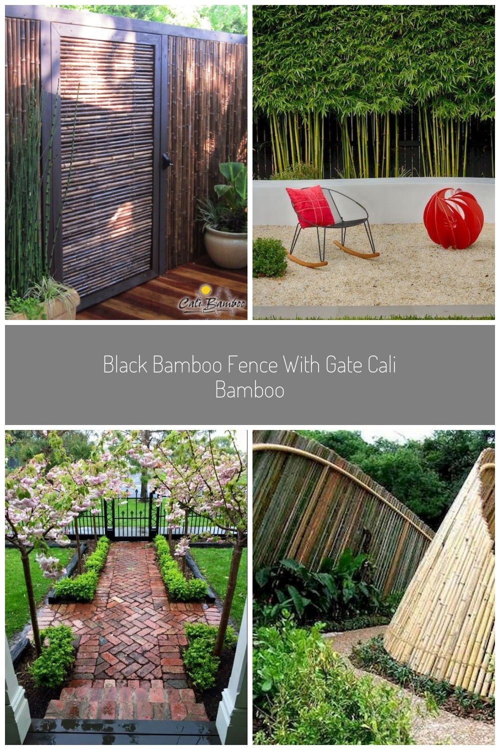 bamboo fence with Gate  Cali Bamboo fence Black bamboo fence with Gate Cali Bamboo