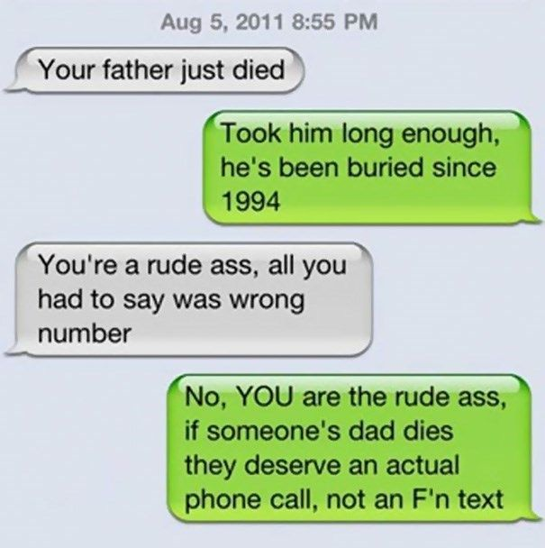 22 Wrong Number Texting Conversations That Ended Up Being Comedic Gold