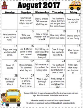 Homework Calendars  Editable  Teacher Stuff