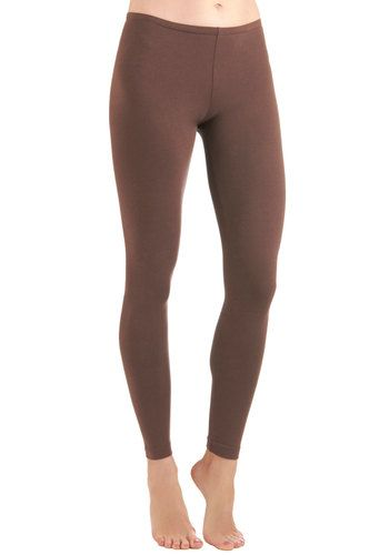 Ace of Basics Leggings in Brown, #ModCloth