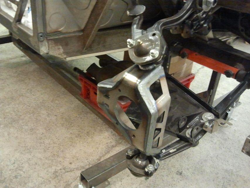 Custom rear upright  SOLIDWORKSSTLSTEP  IGES  3D CAD