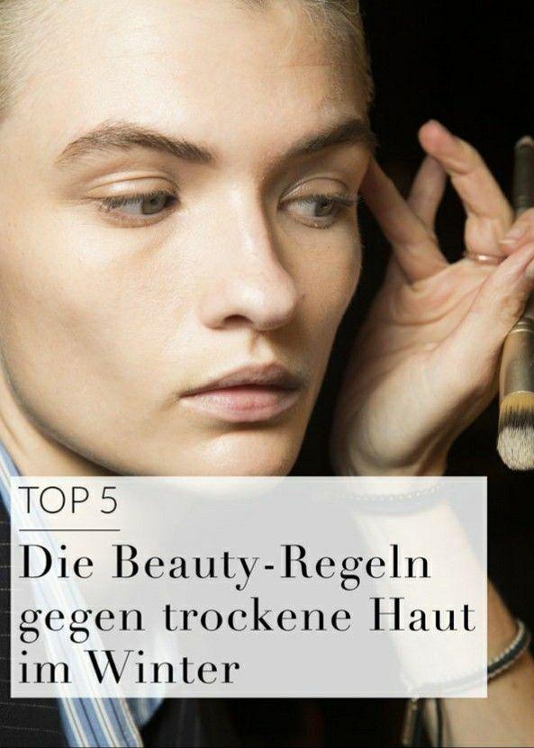 Welche Form von Feuchtigkeit und welches Essen tun trockener Haut Gutes? Vogue liefert die Antworten...
