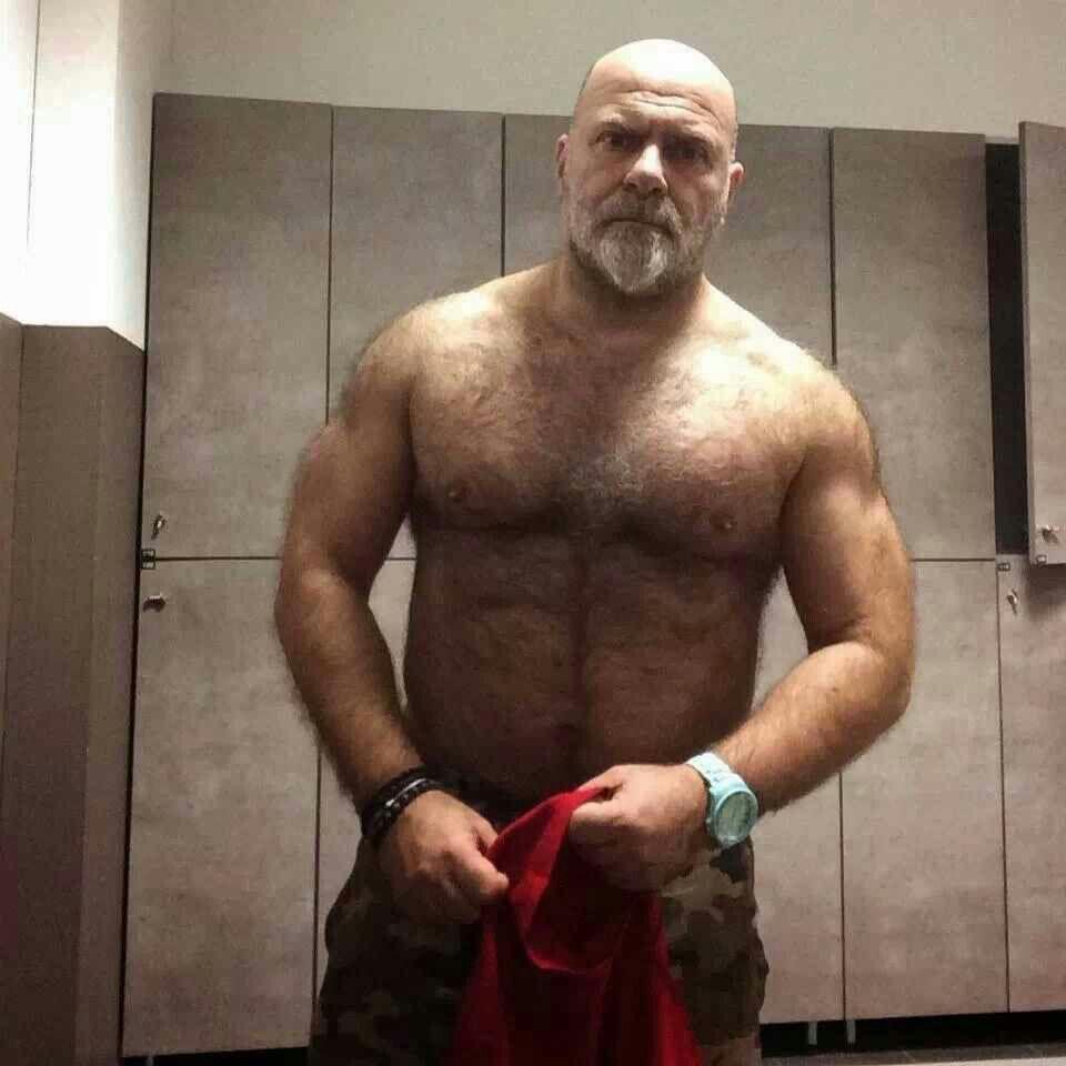 Bears hairy men fur
