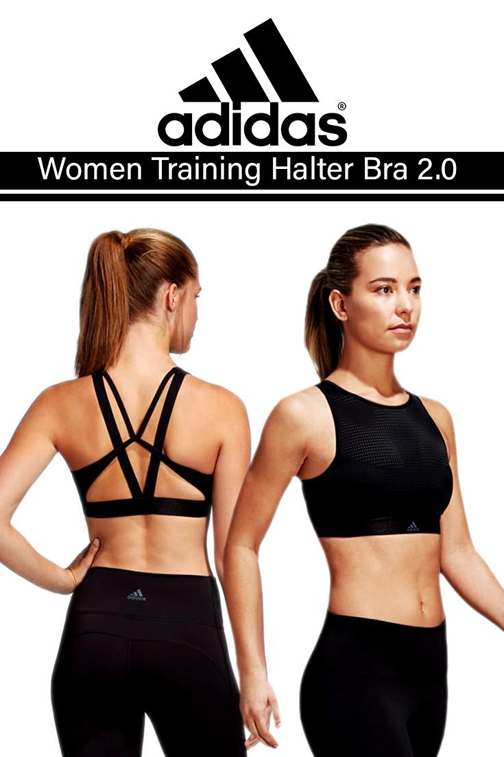 e6ed19b2c Adidas Women Training Halter Bra 2.0